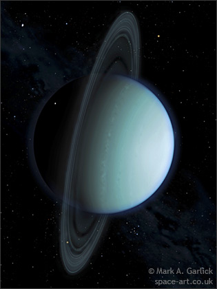 real images of uranus