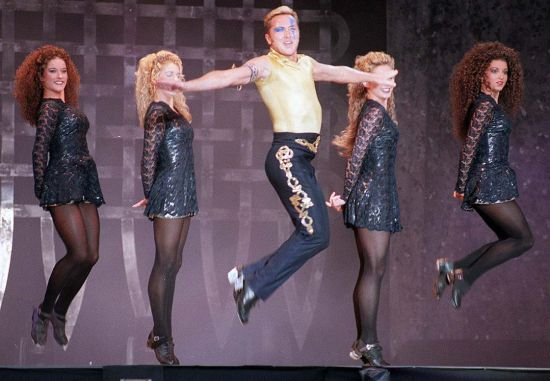 Michael Flatley, Irish dancer