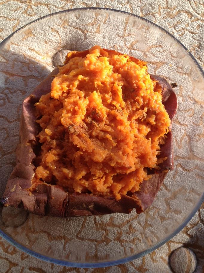a very sweet potato