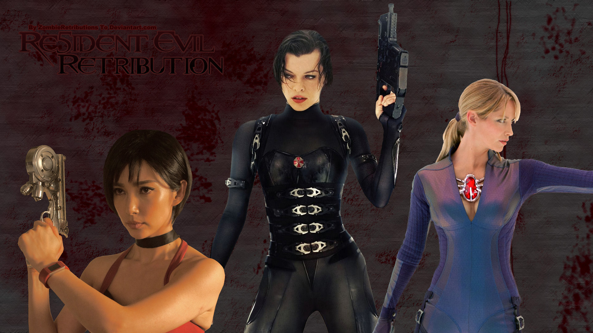 Movie Review Of Resident Evil 5 Stultification Two Black Haired Girls