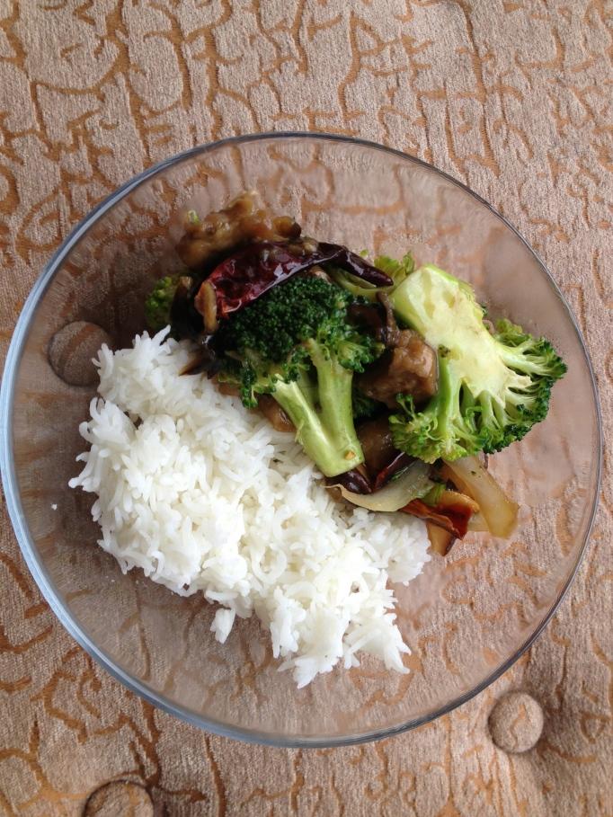 Eggplant Broccoli Stir Fry