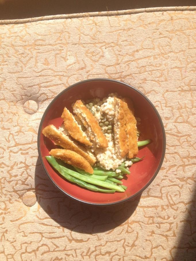 lemon caper veggie unchicken