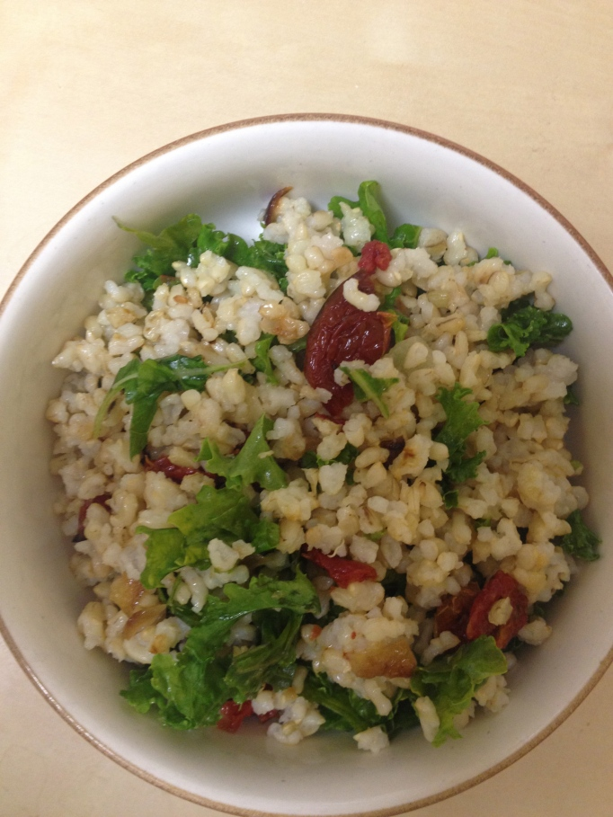 sundried tomato kale and brown rice