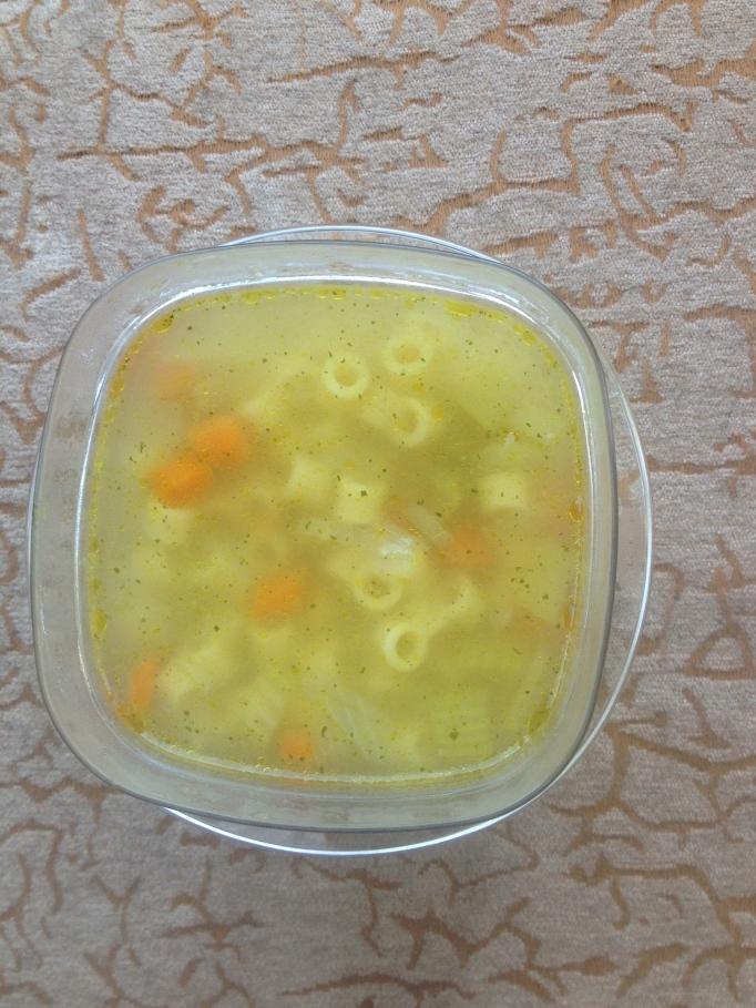 simple vegetable noodle soup