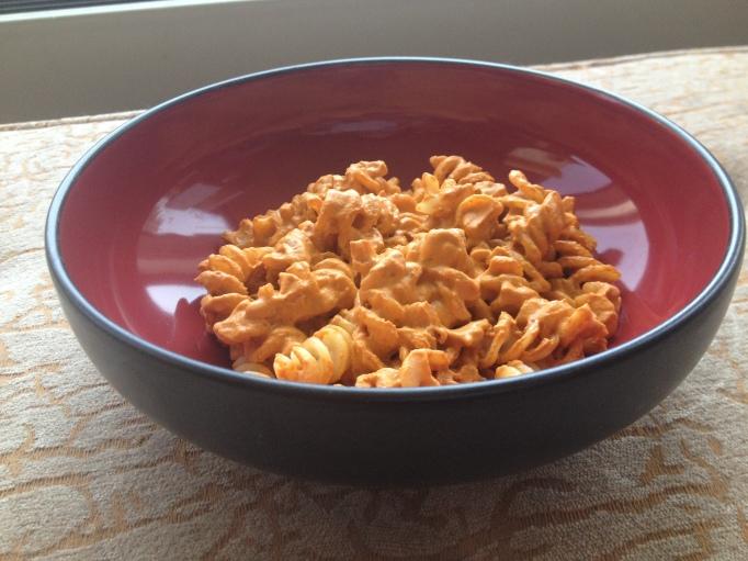 vegan muhammara pasta