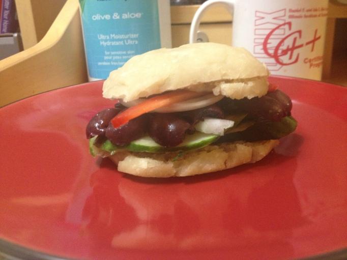 vegan deli sandwich