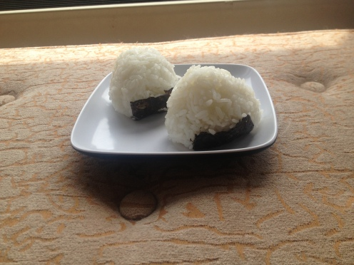 Daily Vegan Lunch for 3 August, 2013: Onigiri (Japanese Rice Balls)