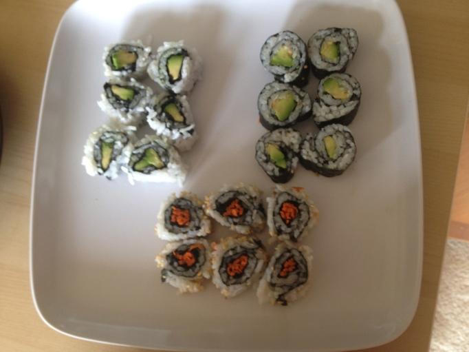 vegan sushi maki