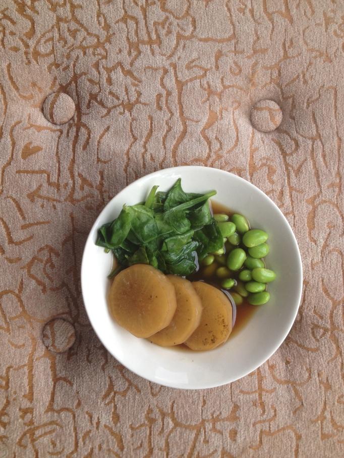 vegan stewed daikon