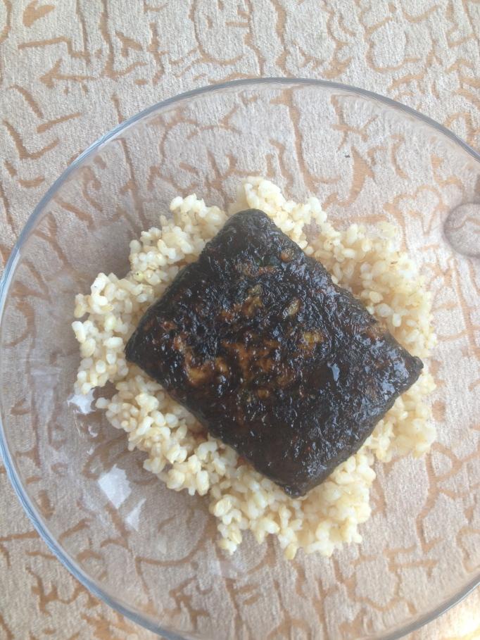 seaweed mushroom cutlet