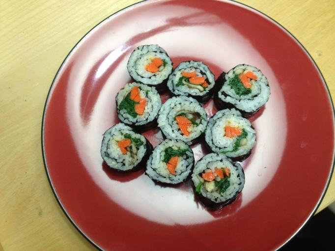 more vegan sushi