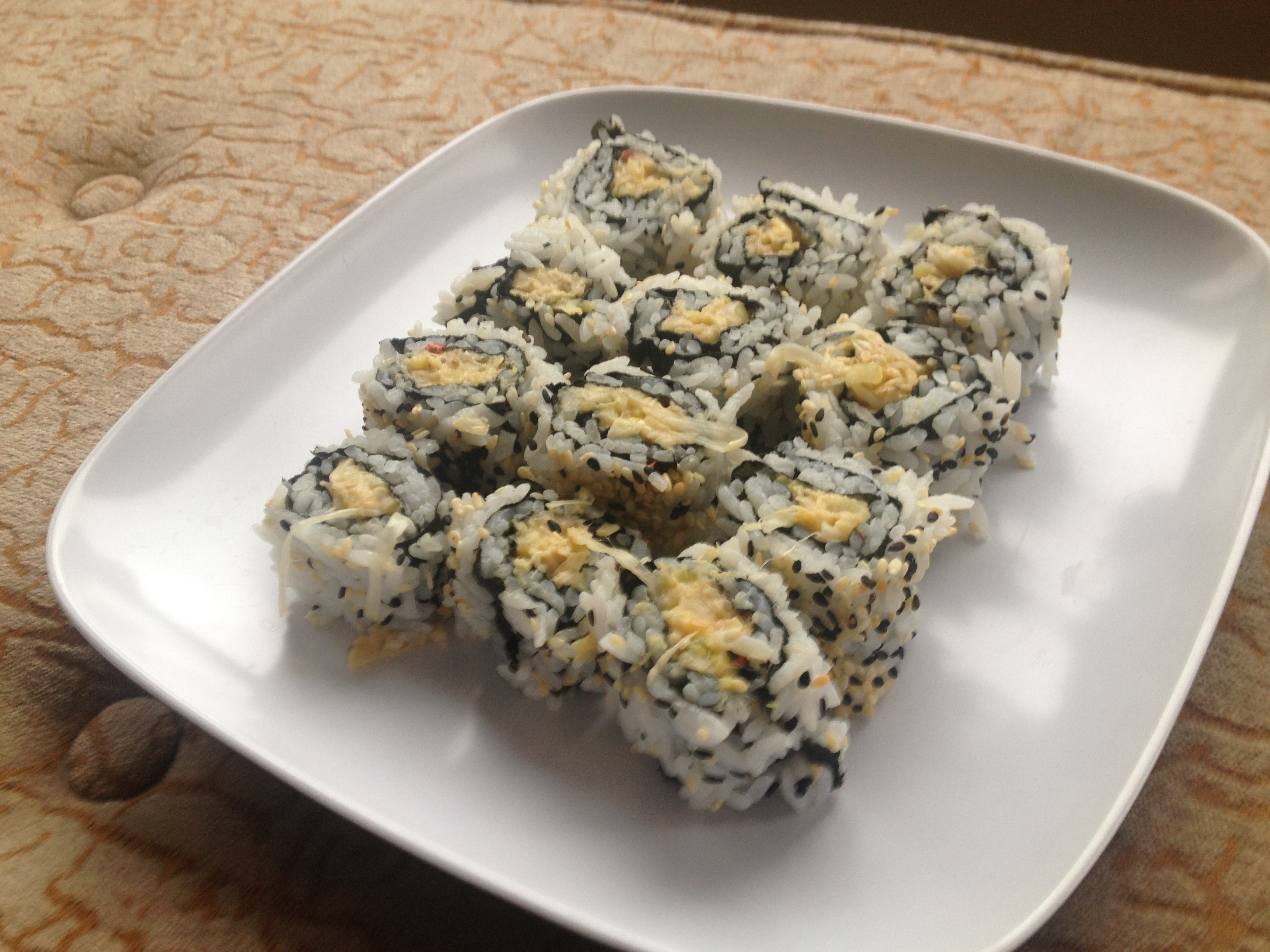 recipe: crab meat sushi filling [28]