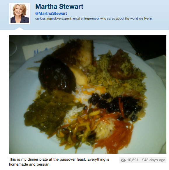 nasty martha stewart food