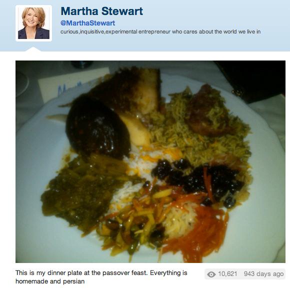 nasty martha stewart food