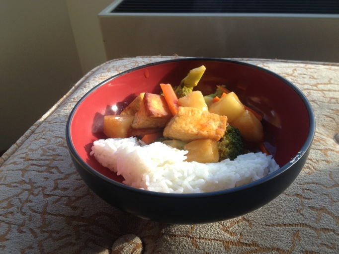 vegan sweet and sour chicken