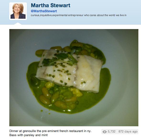 martha stewart disgusting food