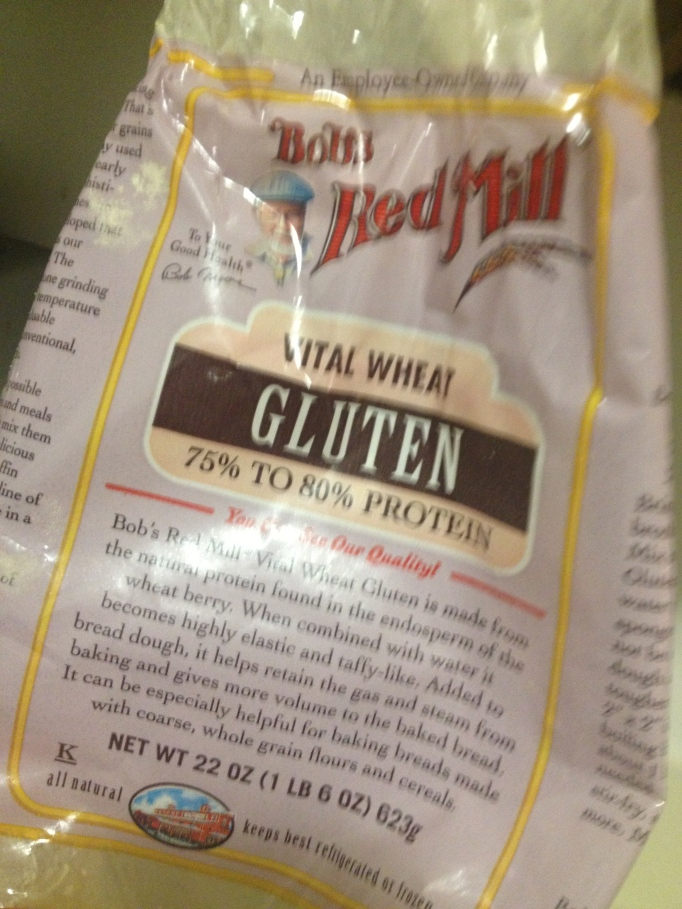 vital wheat gluten flour package