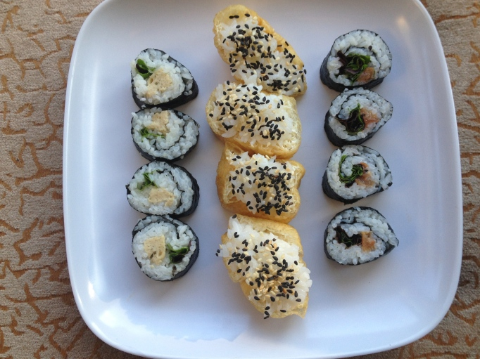 seitan sushi maki