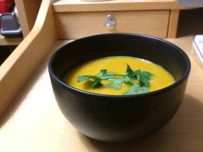 vegan squash soup