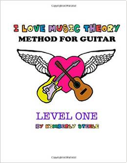 I Love Music Theory Method for Guitar