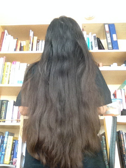 Tried to straighten it and then... humidity.